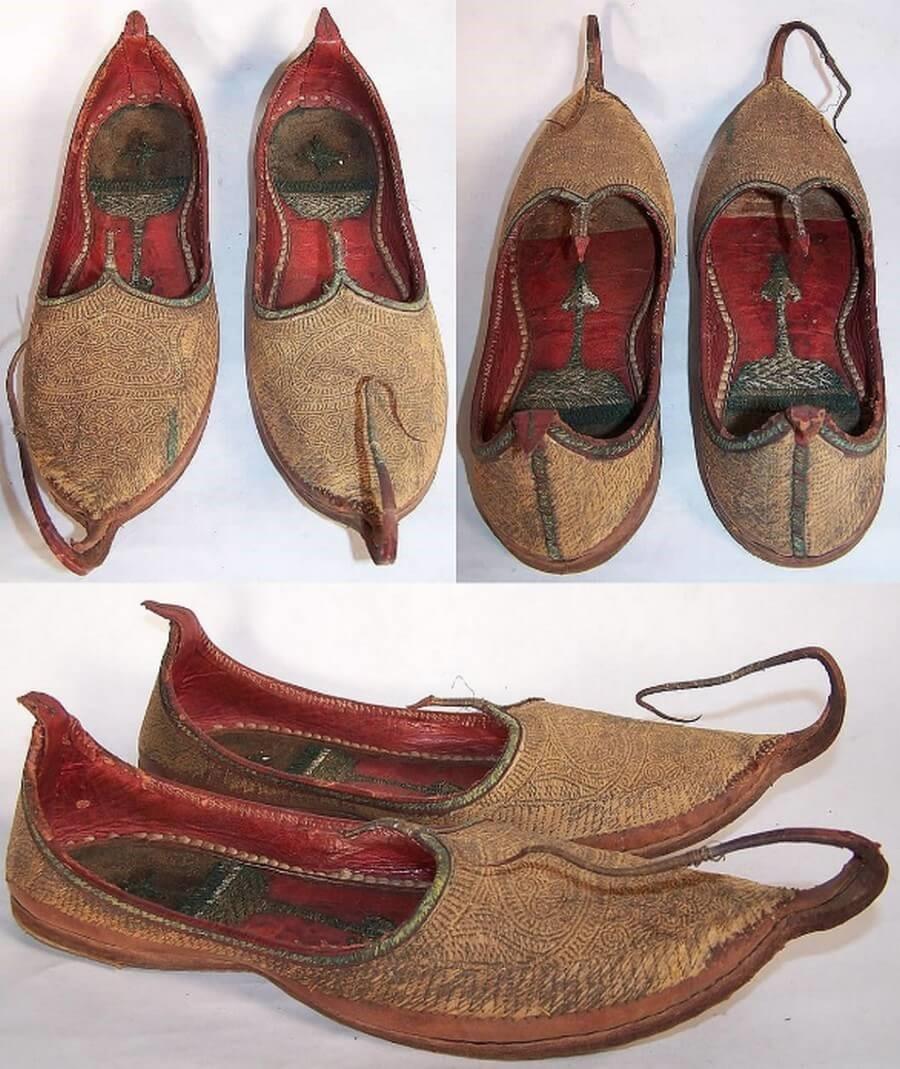 Обувь по-восточному: так ли удобны туфли без задников и загнутыми носками?