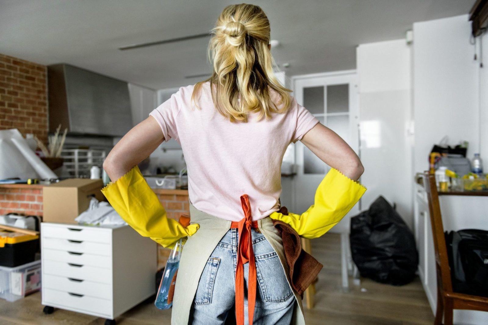 Топ-10 сложностей в уборке, по версии домохозяек