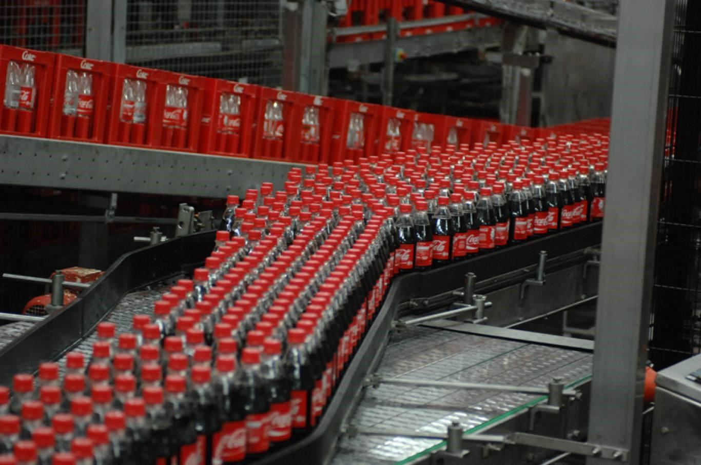 Как производят напитки Coca-Cola