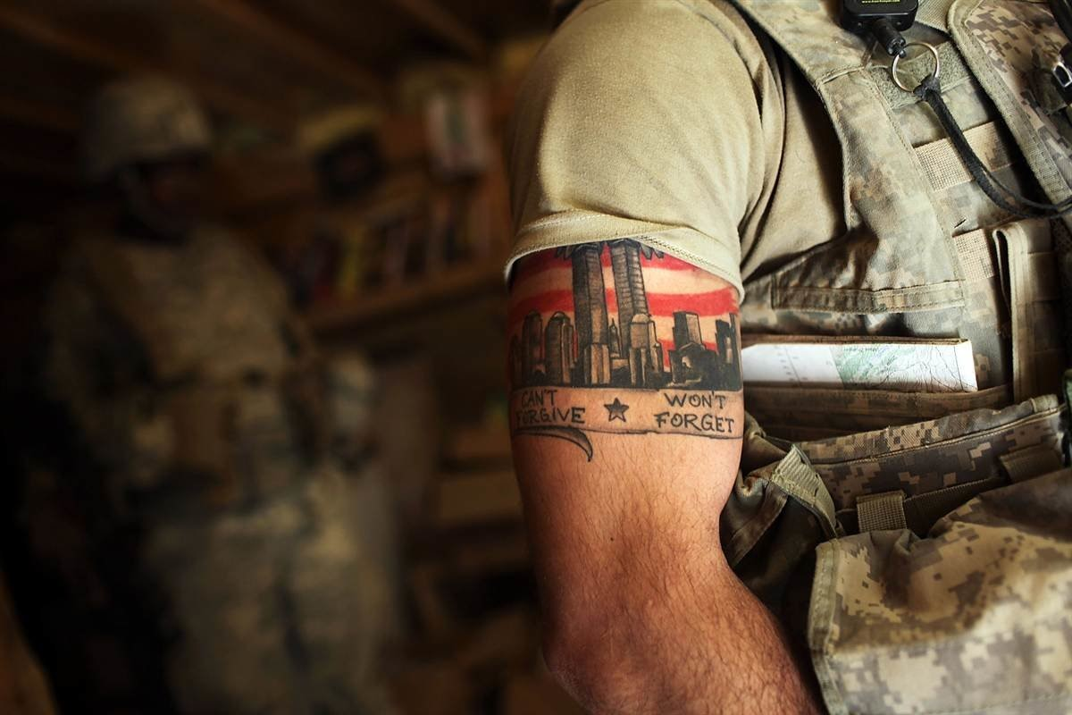 Значение армейских татуировок по родам войск